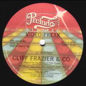 Cliff Frazier and Co - Video Freak